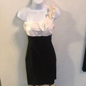 Dresses & Skirts - Black/white dress